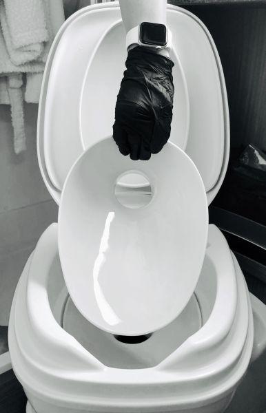 Porzellaneinsatz für Thetford Toiletten