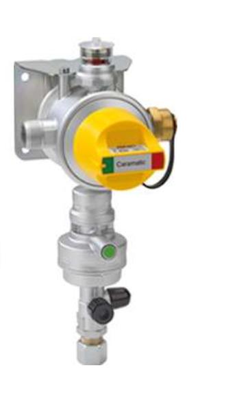 GOK Gasdruckregler Caramatic DriveTwo CS vertikal 30 mbar Crashsensor Bj 2020