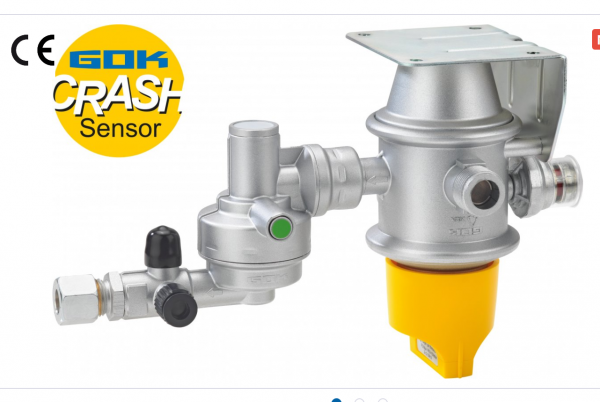 GOK Gasdruckregler Caramatic DriveTwo CS horizontall 30 mbar Crashsensor Bj 2020-