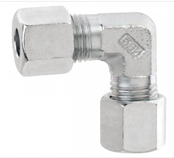 Gok Winkel Verbinder mit Schneidring 8 mm