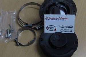 Truma-Wandkamin Abgaskamin kpl für E 2400 NEU schwarz