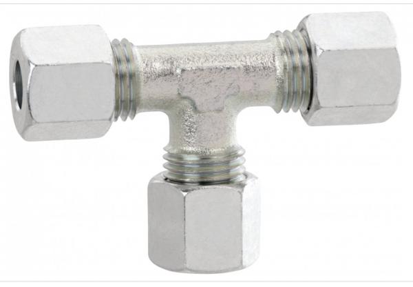 Gok T - Verbinder mit Schneidring 8 mm