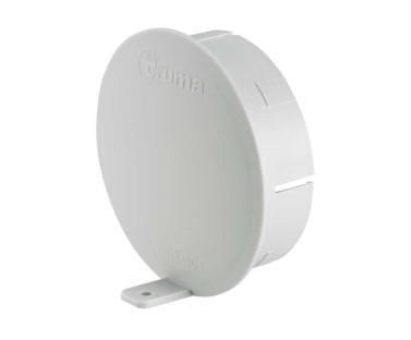 Truma- Rohrdeckel RD achatgrau für Rohre 65 oder 72 mm