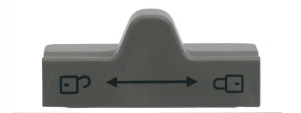 Schieber für Türverriegelung Dometic grau